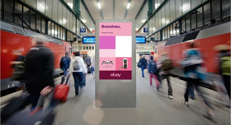 Active Agent unterstützt Kinetic bei der programmatischen DOOH-Kampagne von eBay